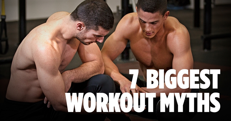 7 biggest workout myths you've ever heard