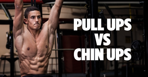 ​Pull Ups VS Chin Ups: What's The Difference
