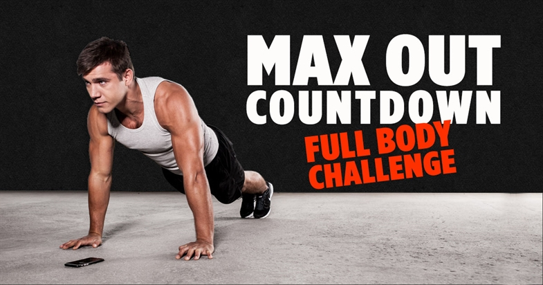 Countdown Challenge - Extreme Full Body Home Workout