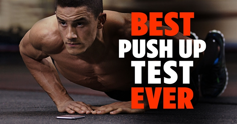 Best PUSH UP TEST Ever - What's your score?