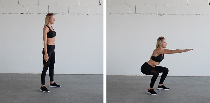 Squats VS Lunges: What's the difference