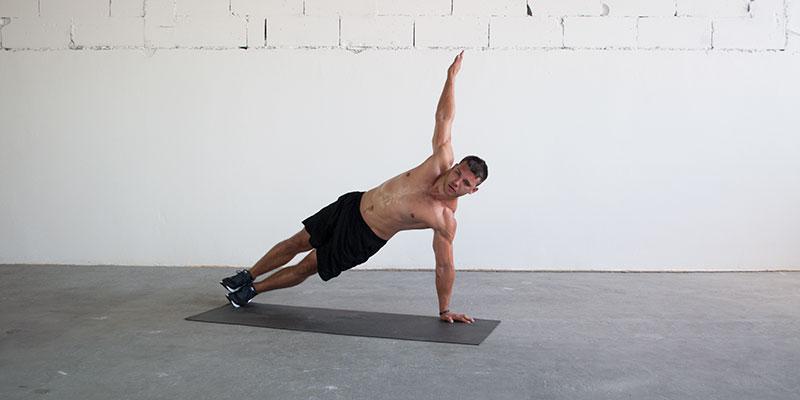 T Rotation Plank