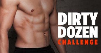 "Intense Full Body No Equipment Workout - ""Dirty Dozen"" Challenge"