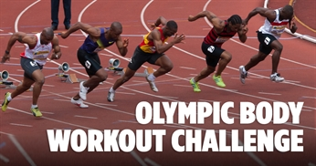 Get ripped like sprinters: Olympic body training challenge