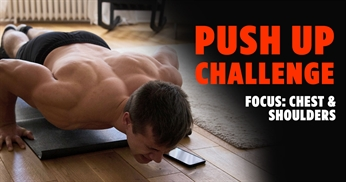 Push Up Challenge - Chest & Shoulders Workout