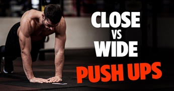 Wide VS Close Hand Push Ups: What's The Difference