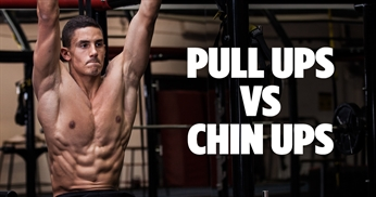 Pull Ups VS Chin Ups: What's The Difference